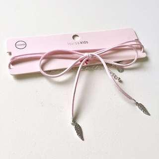 Lovisa Baby Pink Choker #H&M50