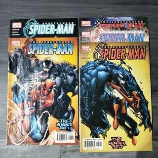 The Spectacular Spider-Man Set Issue 1 - 5