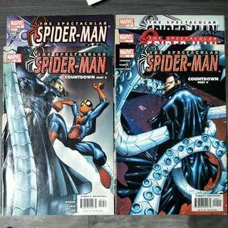 The Spectacular Spiderman Set Issue 5 - 10