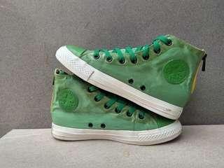 Converse Hi Nylon Green Backzip