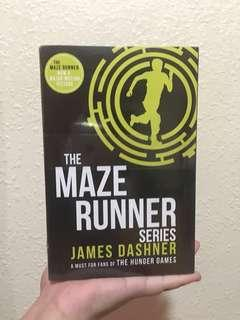 The Maze Runner Series - LIMITED EDITION (UNUSED)