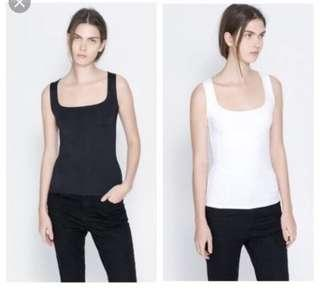 🚚 Zara Basic Sleeveless Top