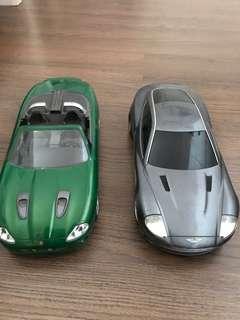 Mobil mobilan aston martin dan jaguar