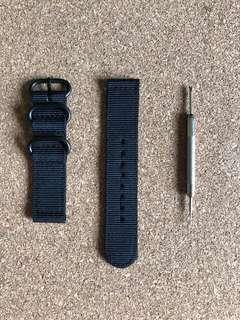 20mm Two Piece Nato Strap