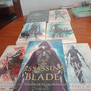 Throne of Glass Complete Series PB n HB