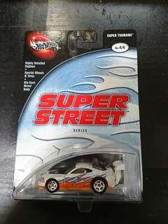 2003 Hot Wheels Super Street White Super Tsunami