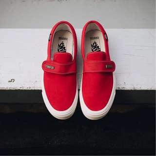 Vans Fear of God Slip on DX Red