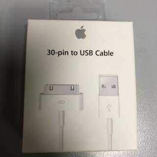 Original Apple 30pins USB Cable