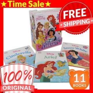 [ORIGINAL] Disney Princess: The Enchanted Library Box Set (11 Books)