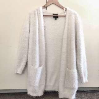 Fur jacket top