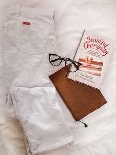 W & Co White Pants