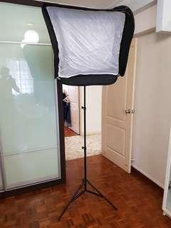 2m high 30inch light box