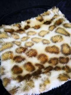 KOSE' 豹紋小包化妝包