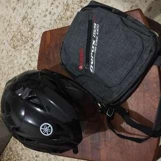 Tas Selempang Dan Helm Yamaha Aerox 155