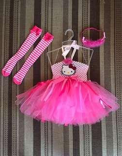 Set of Hello Kitty Tutu Dress