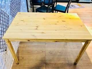 IKEA松木四人餐桌x2