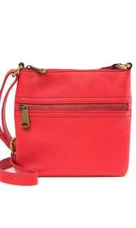 BRAND NEW FOSSIL Explorer mini leather crossbody bag