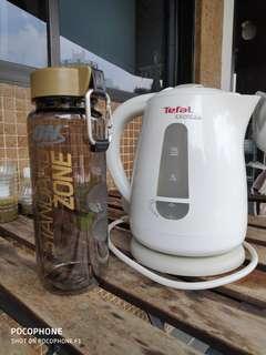 Cheapest Genuine Tefal KO2991 Express Kettle 1.5L + Free New ON Bottle 850ml