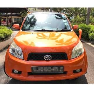 TOYOTA RUSH 1.5L- RELIABLE SUV, COMFORTABLE, ECONOMICAL, SPACIOUS, HUGE BOOT, GREAT SOUND SYSTEM WITH TWEETER! GRAB/TADA/MVL/RYDEX/KARDI READY!