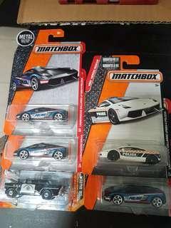 Matchbox Police Cars