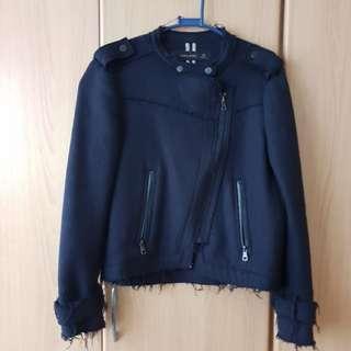 Zara Military Jacket (Dark Blue)
