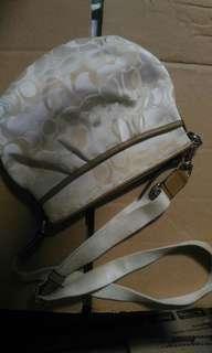 Coach monogram slingbag