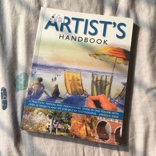 Artist's Handbook - Buku Seni
