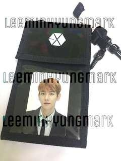EXO BAEKHYUN ELYXION DOT TICKET HOLDER (OFFICIAL)