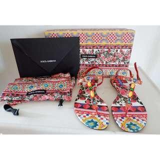 D&G Sandals NEW!! 100% Authentic