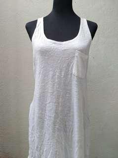 H&M White Sando Dress