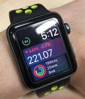 🚚 Apple watch Nike series 2