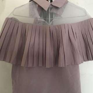 Bangkok Dusty Pink Top Crop