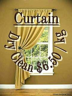 Curtain Drycleaning