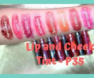 For REBRAND Lip and Cheek Tint