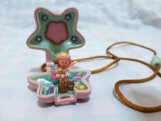 Vintage Polly Pocket Star Fairy Locket (Bluebird 1992)