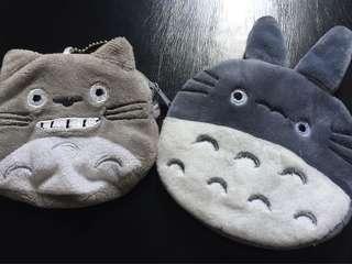 2 Totoro Coin Porches