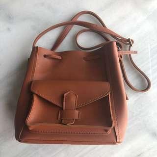 Light Brown Sling Bag