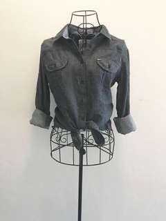 Dark Blue/Grey Casual Shirt (size S)