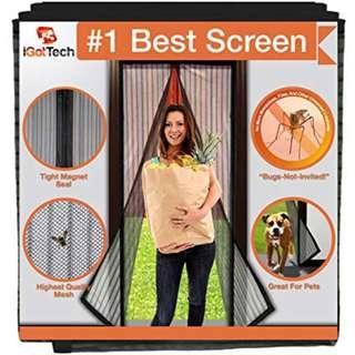 Magnetic Door Mesh Screen