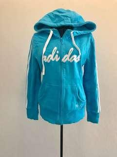 Adidas Blue Hoodie (size S)