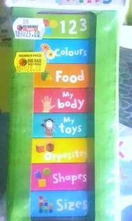 First Learning 10 Chunky Books - BBW