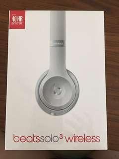 Beats Solo 3 Wireless (Silver)