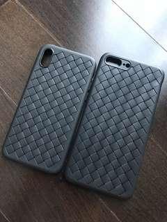 Ready Stock: Bottega Plait Inspired iPhone 7+ 8+ X Case