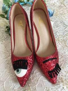 Red shoes from Korea/free sf