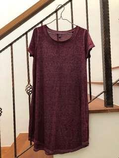 🍒 T-shirt dress