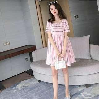 👼🏻 (PO) Pink Babydoll Dress