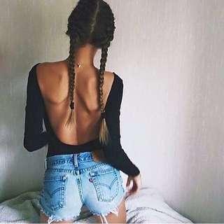 👼🏻 (PO) Backless bodysuit