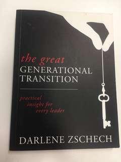 Generation Transition by Darlene Zschech