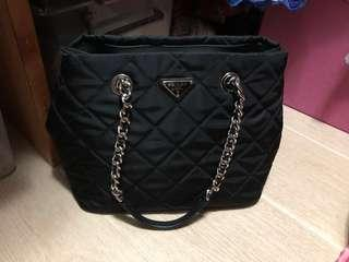 95% new Prada nylon bag