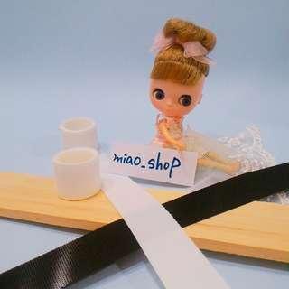 🚚 娃衣白色超薄粘扣帶 魔鬼氈